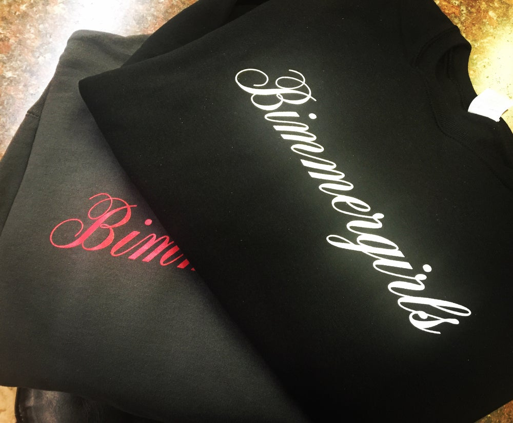 Image of BIMMER GIRLS CREW NECK