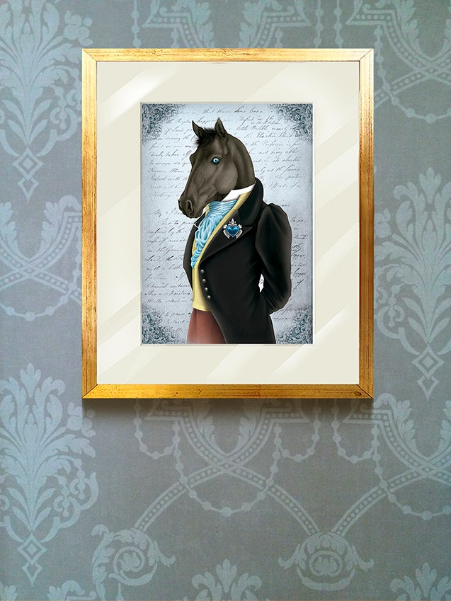 Image of Rudolph the horse / cuadro