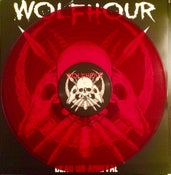 Image of WOLFHOUR - DEAD ON ARRIVAL LP (CLEAR RED VINYL) - RESTOCKED!!