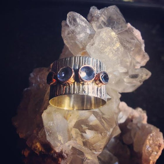 Image of Third Eye Opener and Immune Balance ~ Sterling Silver and Amethyst