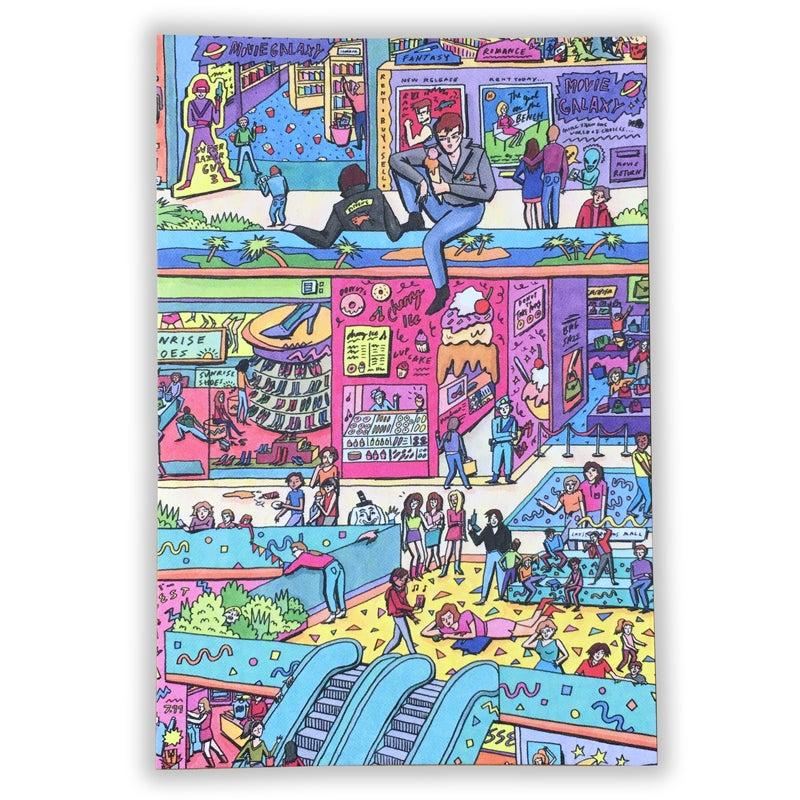 Image of BUNNY BISSOUX 'MALL' 4 x POSTCARD SET