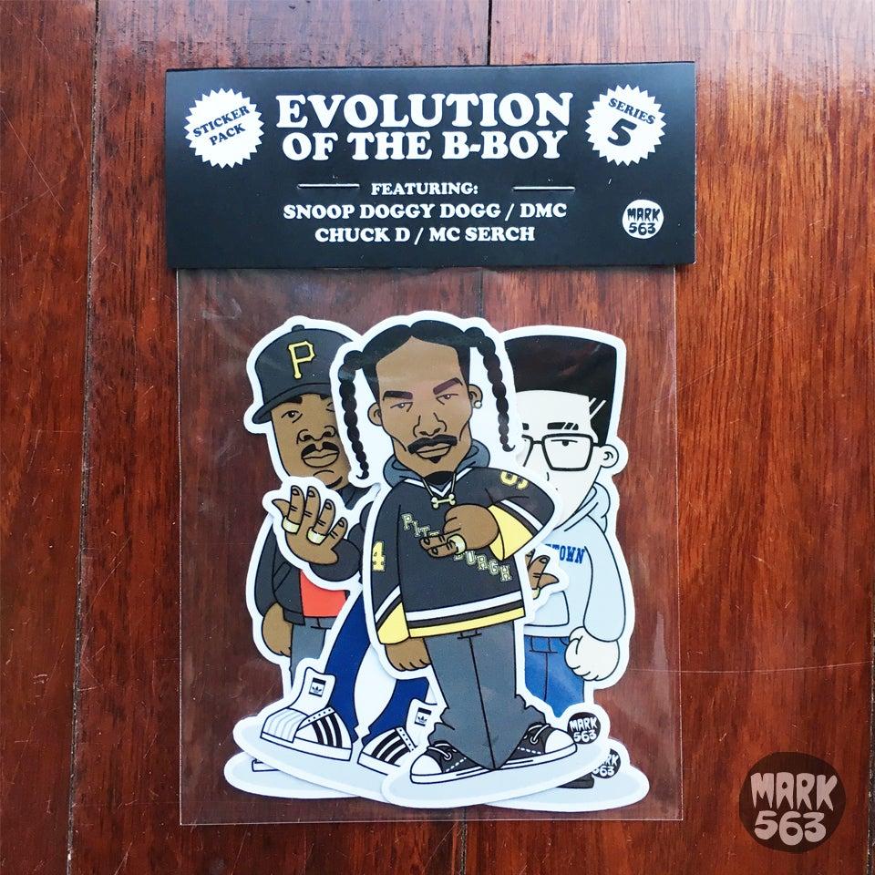 Image of Evolution Of The B-Boy Series 5 Snoop, MC Serch, DMC & Chuck D