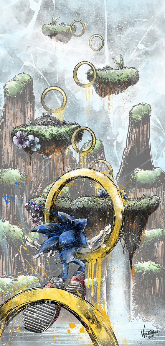 """Image of """"Obstacle Course"""" - Inspired by Sonic the Hedgehog"""