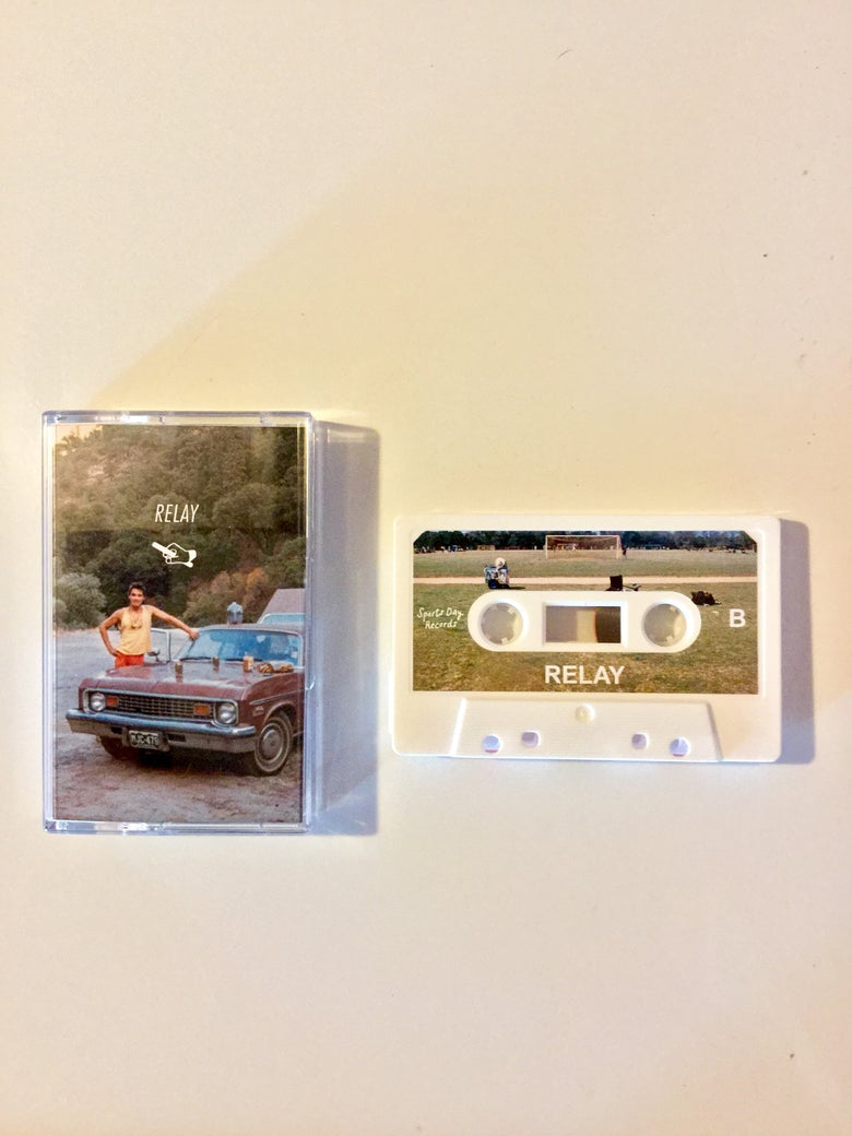 Image of Sports Day presents RELAY - Limited Edition of 50 white cassette tapes