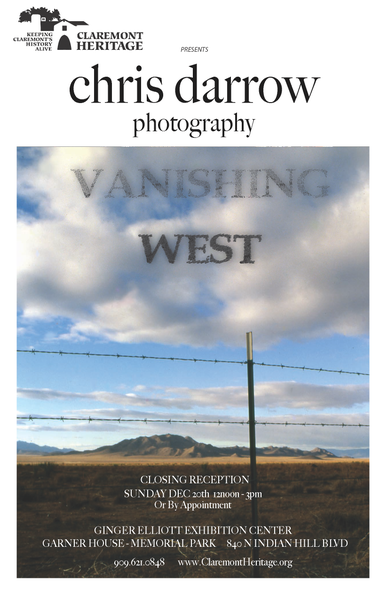 Image of Chris Darrow - SIGNED POSTER - Vanishing West