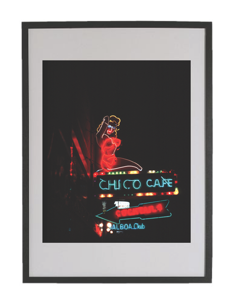 "Image of Chris Darrow - 24"" x 36"" Ltd Ed Giclee Print - Chico Bar"