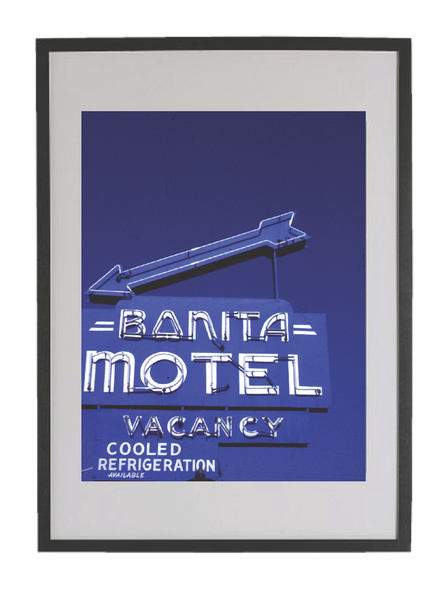 "Image of Chris Darrow - 24"" x 36"" Ltd Ed Giclee Print - Bonita Motel"