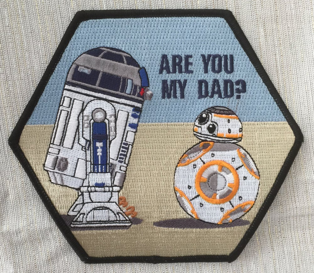 Image of Are You My Dad? R2D2 and BB-8 Droid patch