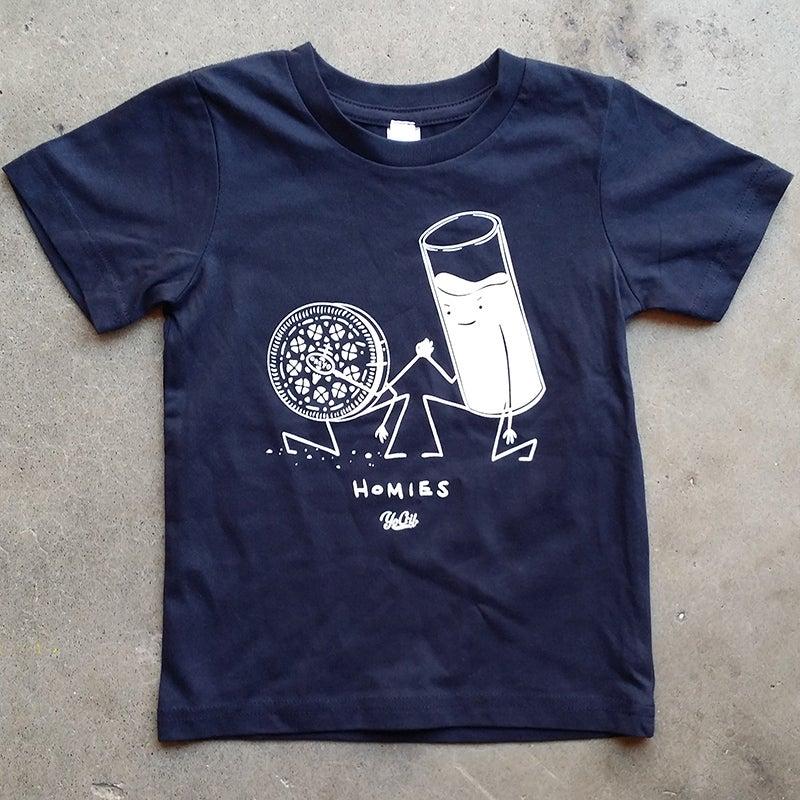 Image of 'Homies' t-shirt (navy)