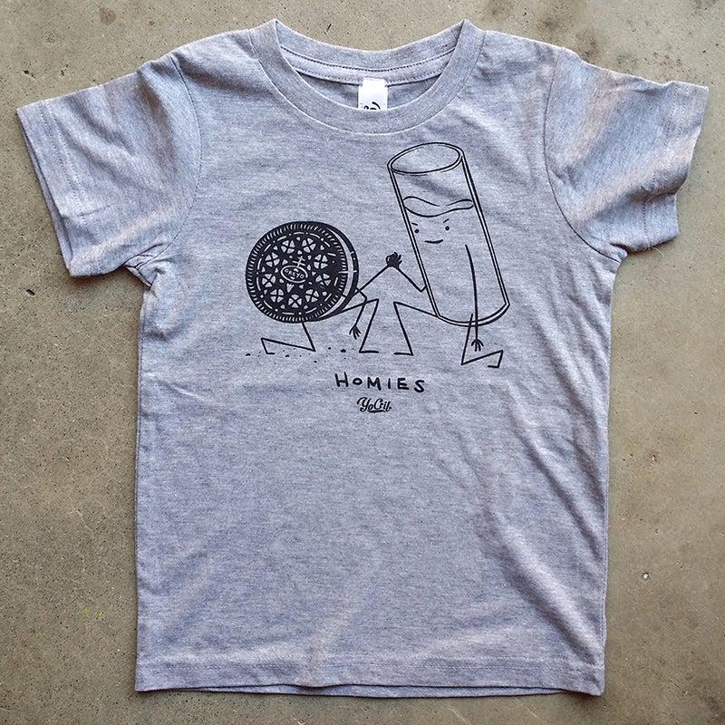 Image of 'Homies' t-shirt (grey)