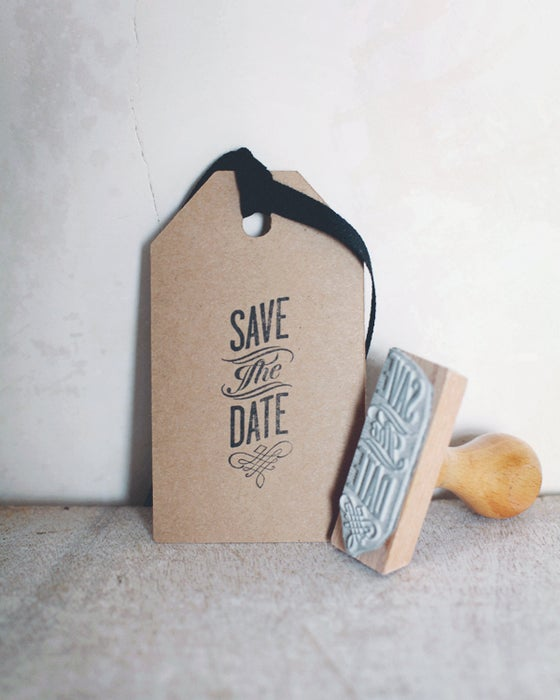 Image of Tampon Save the date