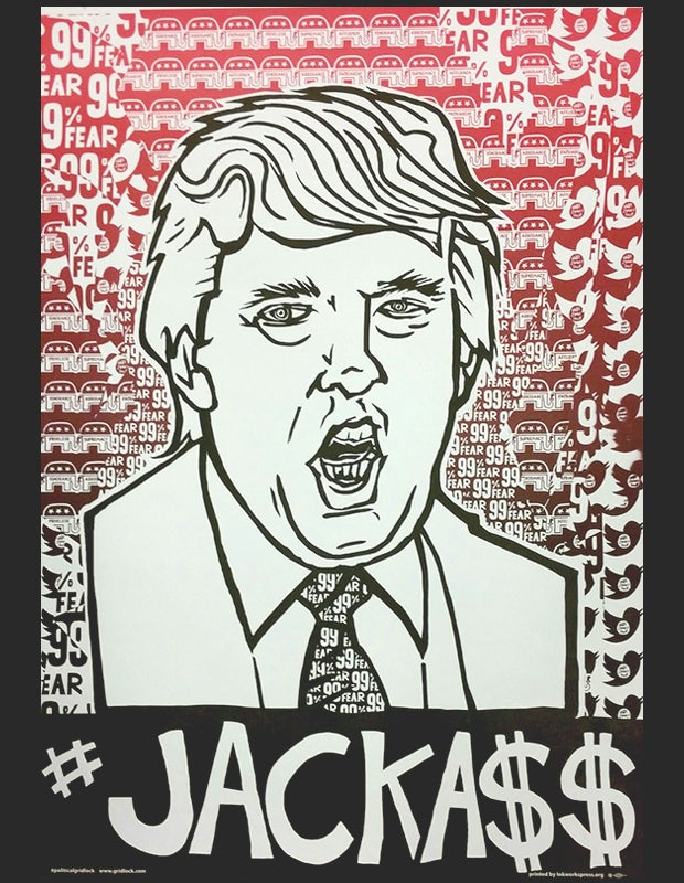Image of Donald Trump #Jackass