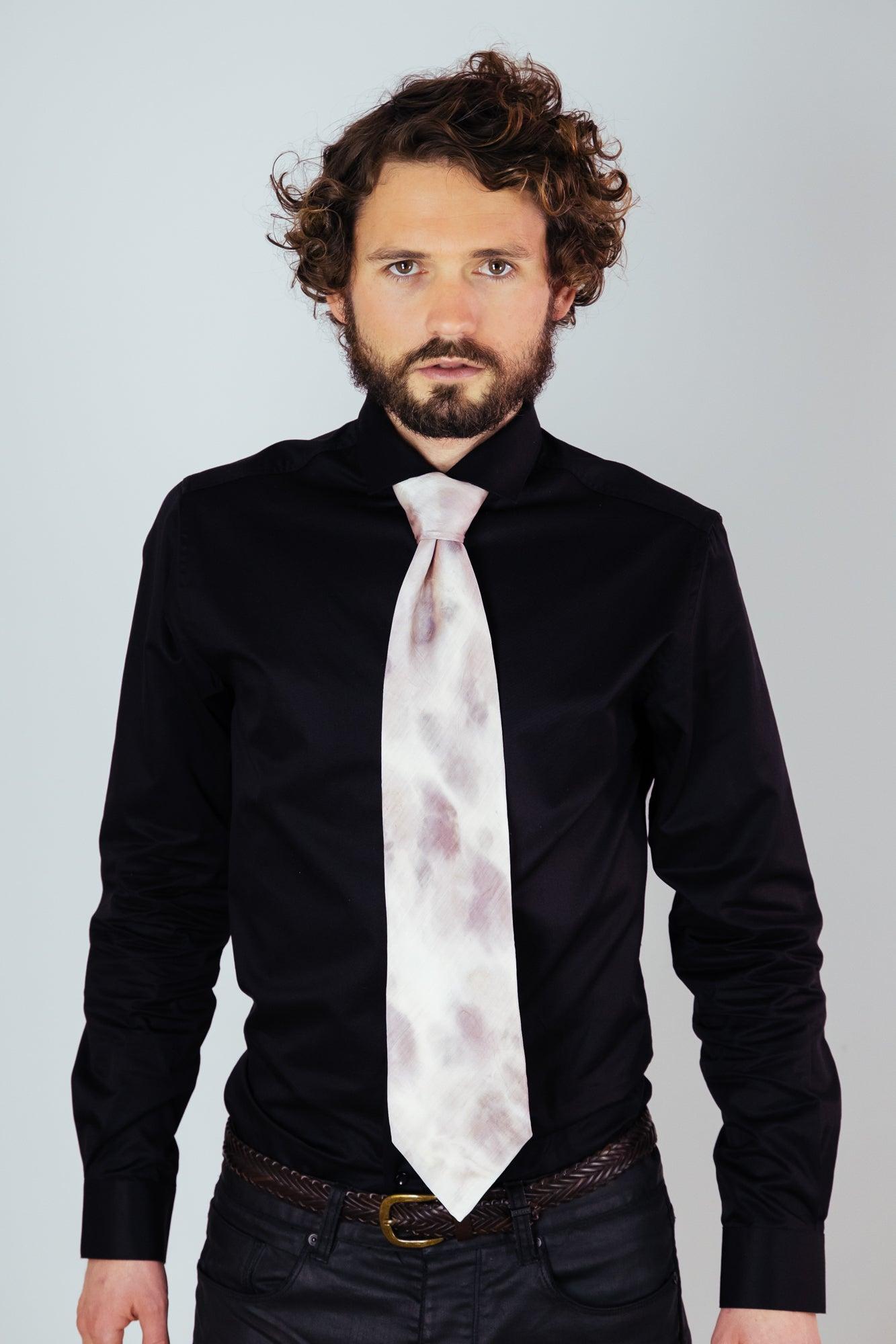Image of Men's Neck Tie Purple