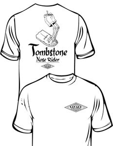 Image of Tombstone Noserider T Shirt