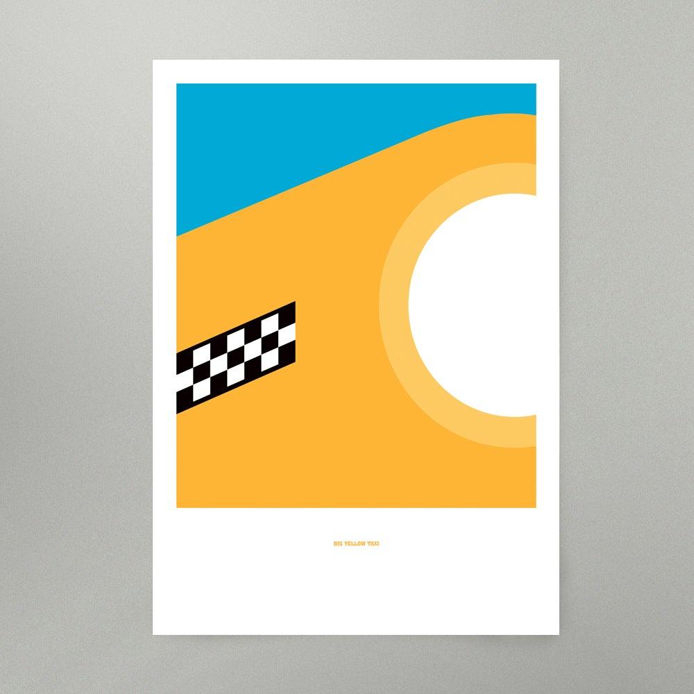 Image of Big Yellow Taxi Art Print