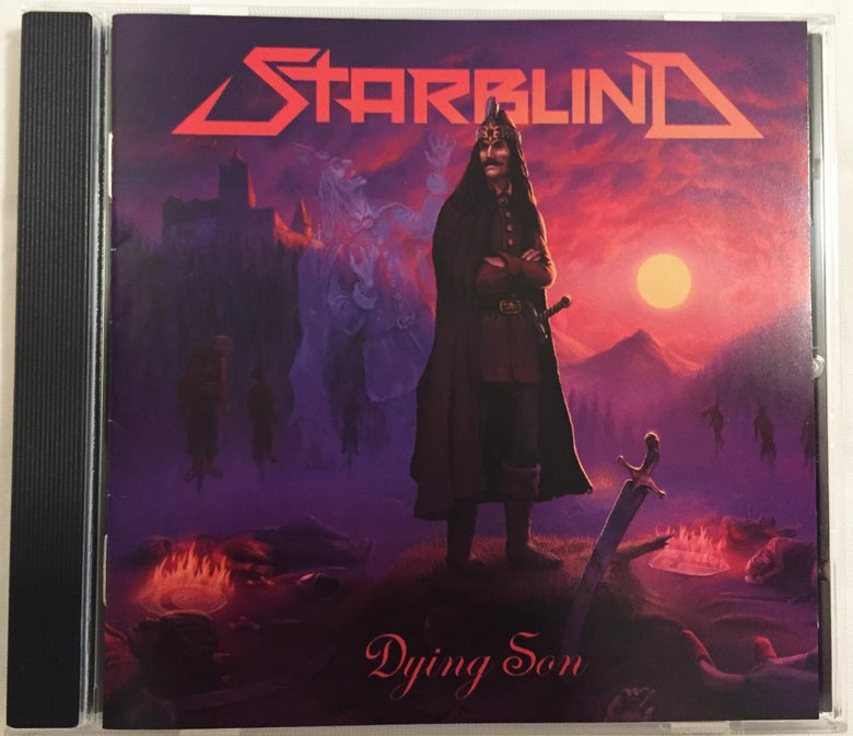 Image of Starblind - Dying Son CD (World wide shipping included)