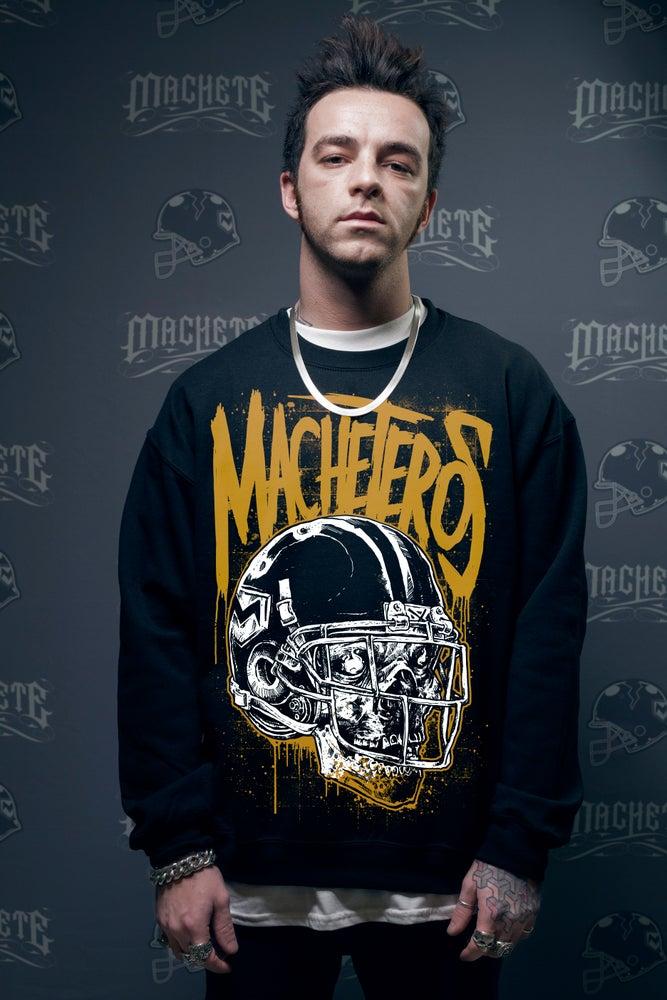 "Image of ""Machetero"" crewneck black"