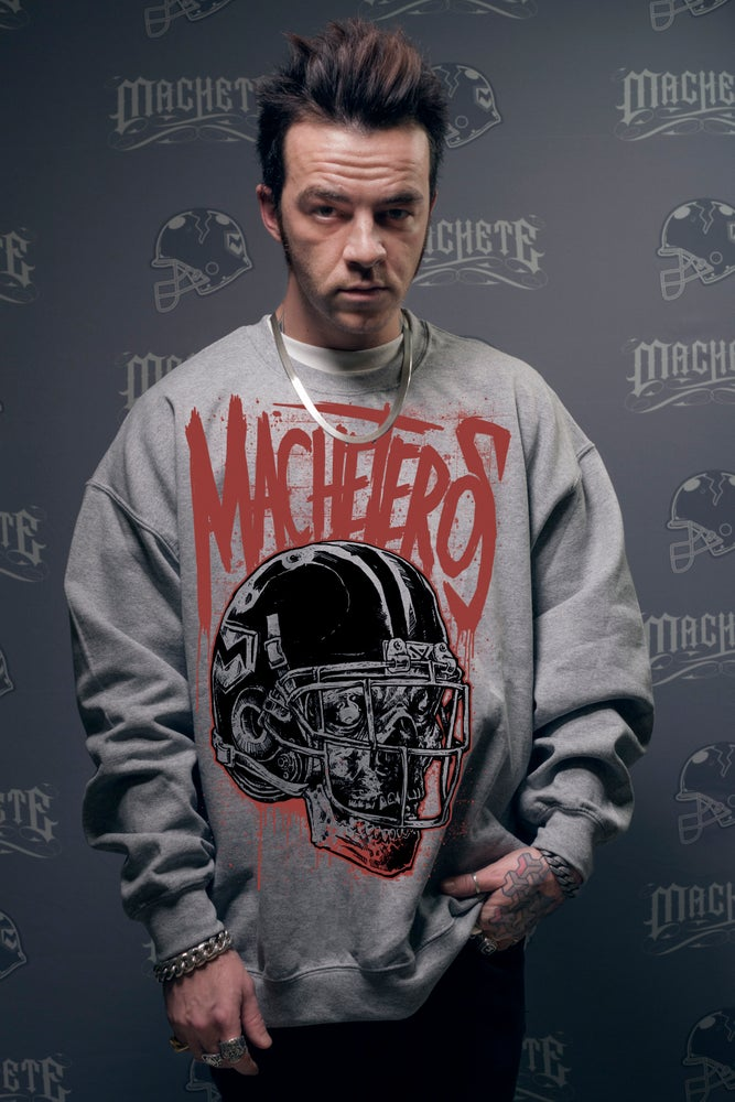 Image of Machetero Crewneck grey