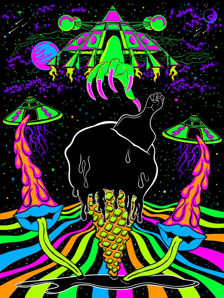 "Image of ""The Ice Cream Connection"" (Intergalaticsupergroovyliciouscosmiciscreamyouscreamfroyoagogo)"
