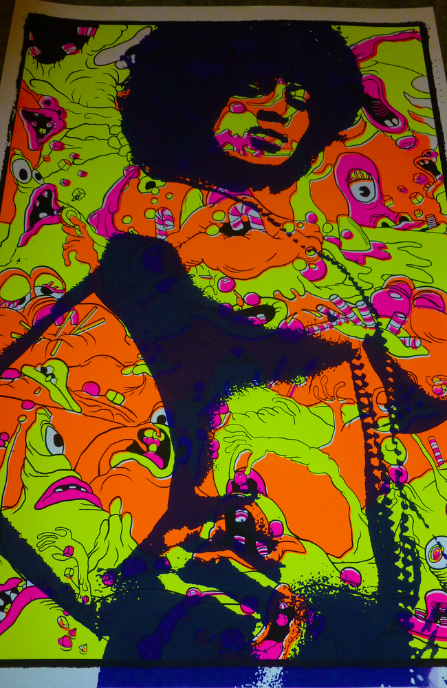 Image of Afro Girl Greedy - Test Prints