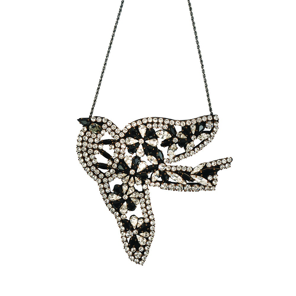 Collier Flower bird - Shourouk