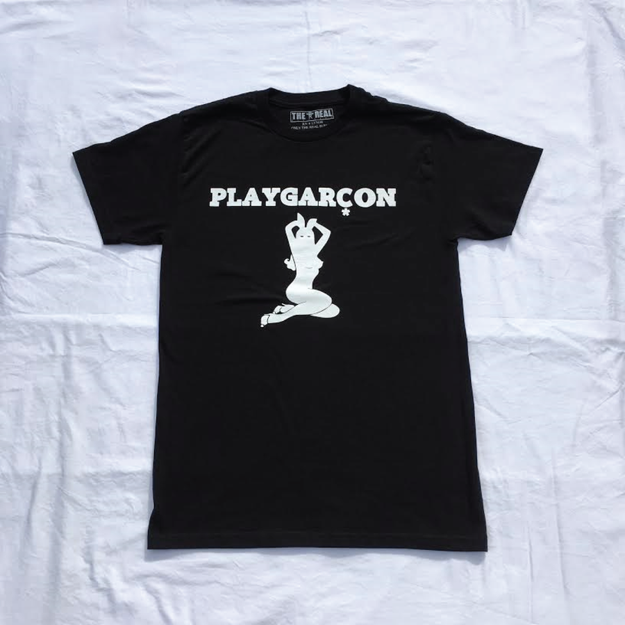 Image of PLAYGARCON T Shirt (Black)