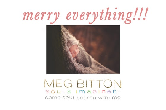 Image of Merry Everything!!! TWELVE SILENT WEBINARS.