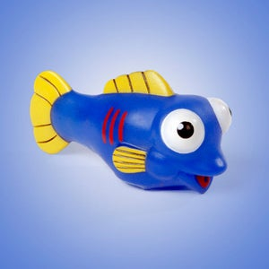 Image of Mr. Blue Squirting/Bubble Blowing Pool/Bath Toy