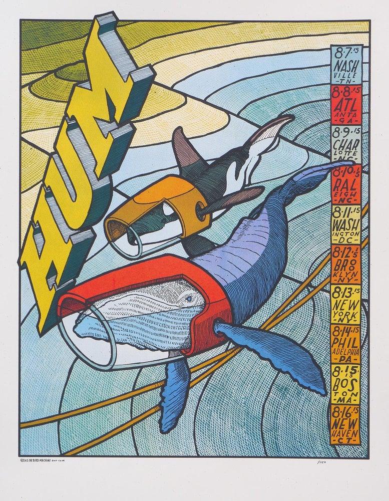 Image of Hum - 2015 East Coast Jay Ryan tour poster