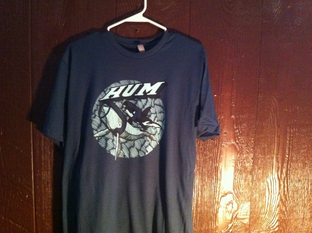 "Image of Hum - Jay Ryan ""Whale"" T-shirt"