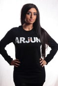 Image of ARJUN Black Long-sleeved (Unisex)