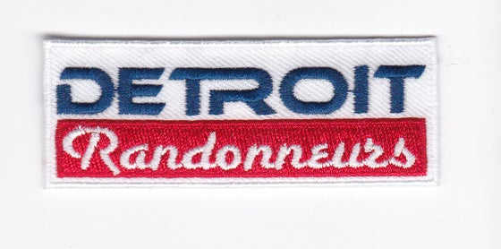 Image of Detroit Randos logo patch