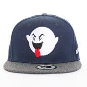 Image of The Boogie Logo Snapback- Navy/Gray
