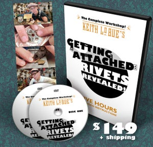 Image of GETTING ATTACHED: Rivets Revealed! *New DVD Workshop!*