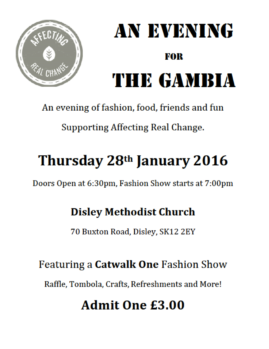 Image of The Gambia Fashion Show ticket
