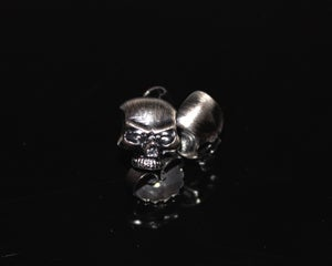 Image of Skull - Silver ear studs