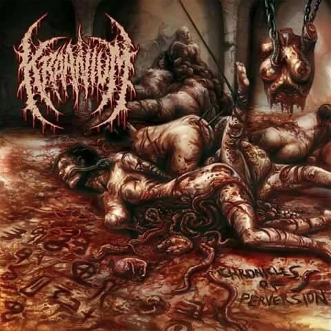 Image of KRAANIUM - Chronicles Of Perversion CD
