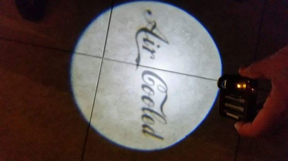 "Image of ""GHOST"" DOOR LIGHT LOGOS ONLY"