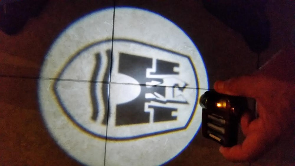 "Image of ""GHOST"" DOOR LIGHT LOGOS ONLY"