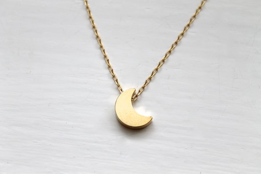 Image of Crescent Moon Necklace
