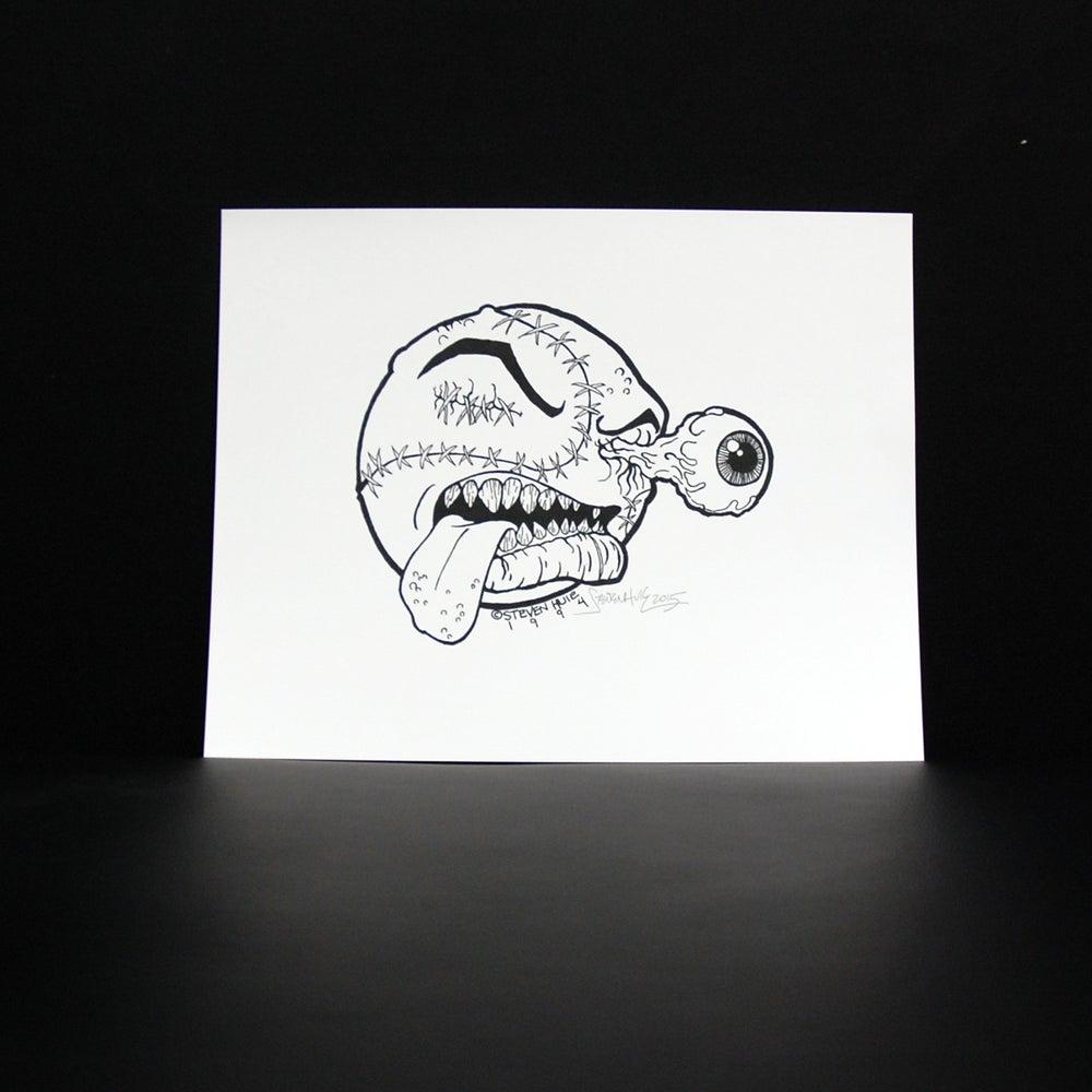 Image of STEVEN HUIE - ORIGINAL MADBALL PRINT