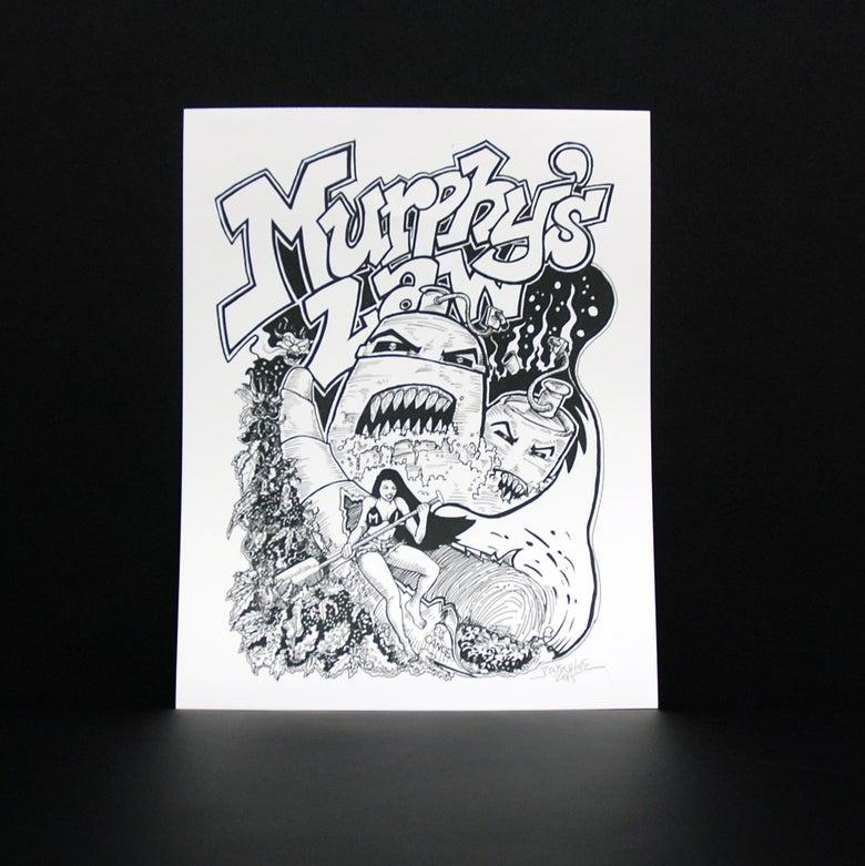 Image of STEVEN HUIE - MURPHY'S LAW PRINT