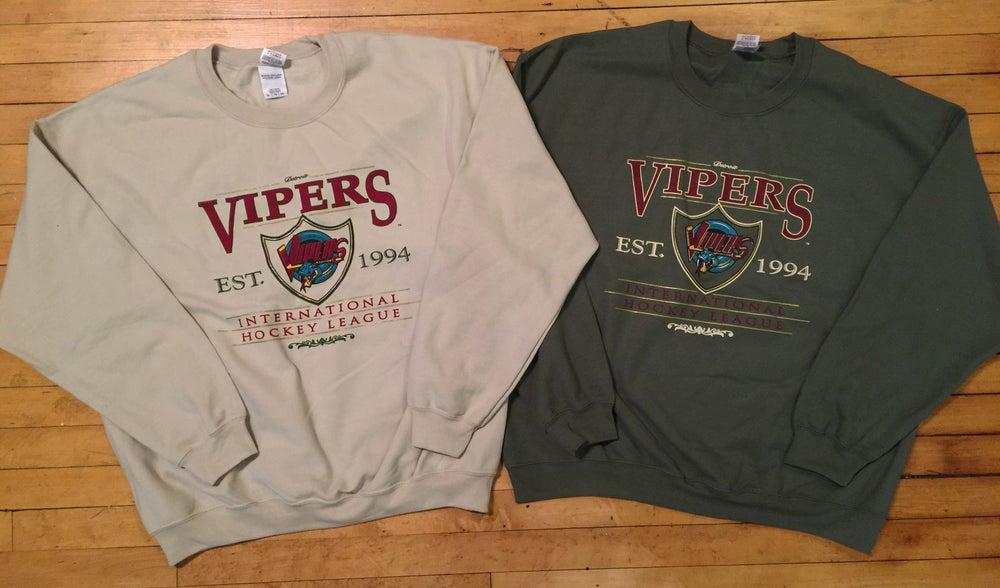 Image of Detroit Vipers Sweatshirt Est in 1994