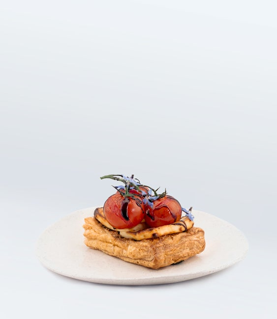 Image of Haloumi & Tomato Galette (V) <br>(More Sizes Available)