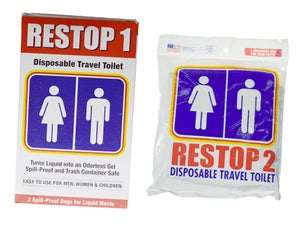 Image of RESTOP Portable Travel Toilet Systems