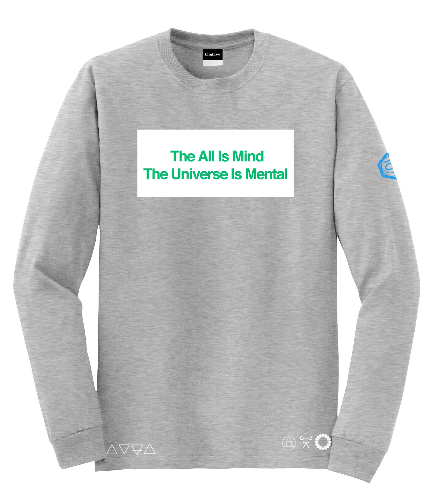 Image of KingNYC The ALL Is Mind LS T-Shirt
