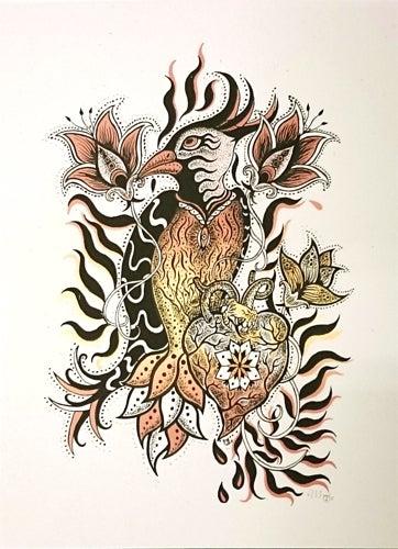 "Image of Art Print: ""COLIBRI"""