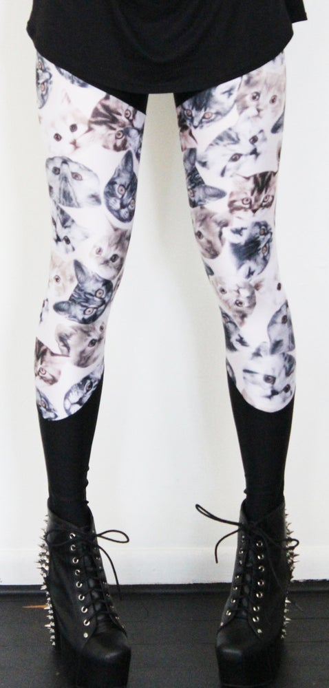 Image of Kitty cat leggings