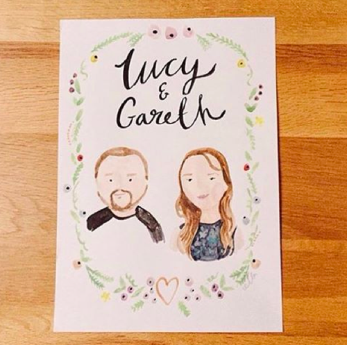 Image of A5 or A4 personalised portrait commission