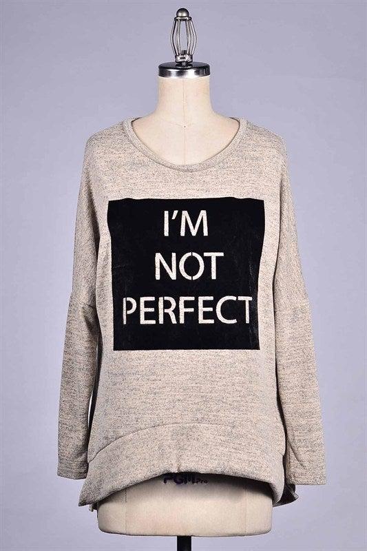 Image of I'm Not Perfect Lush